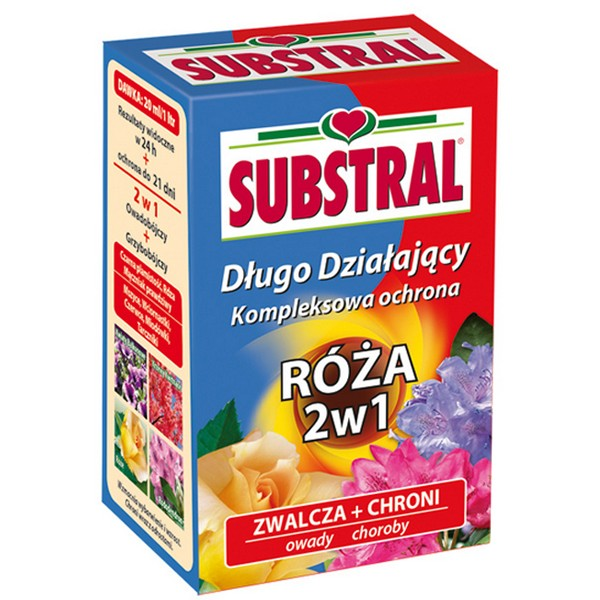 SUBSTRAL RÓŻA 2W1 25ML