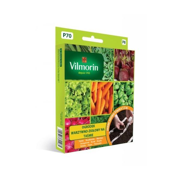 Ogródek warzywno-ziołowy na taśmie P70 Vilmorin