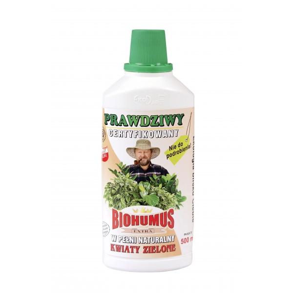 Biohumus Extra Kwiaty Zielone 0,5l