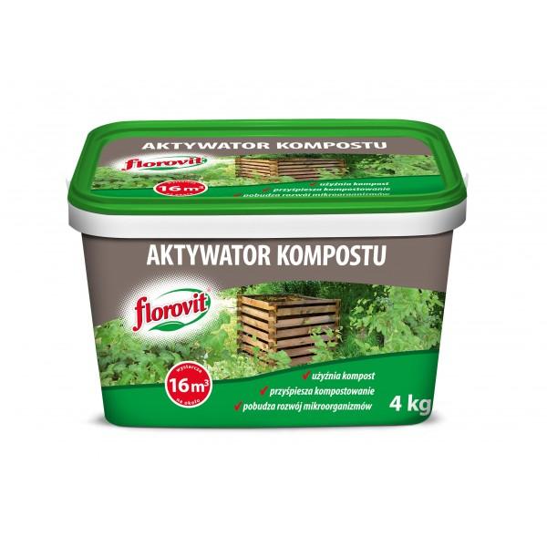 AKTYWATOR KOMPOSTU 4KG FLOROVIT