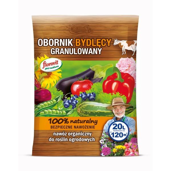 OBORONIK BYDLĘCY GRANULOWANY 20L FLOROVIT PRONATURA