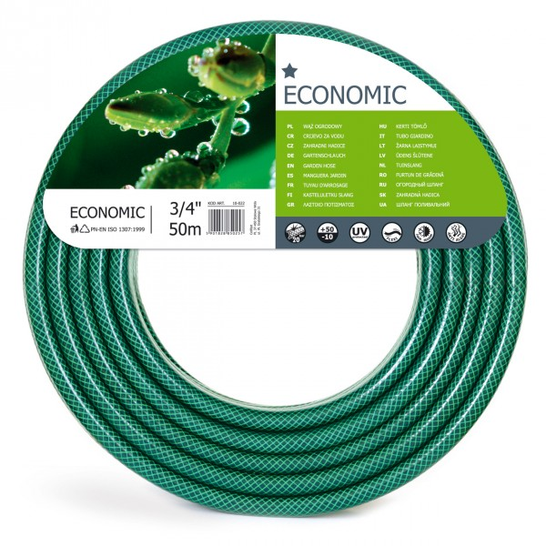 WĄŻ ECONOMIC 3/4'' 50M CELLFAST 10-022