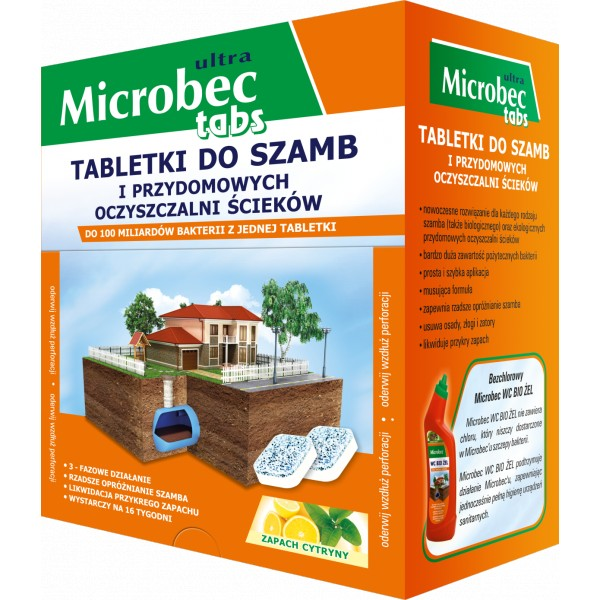 MICROBEC ULTRA TABLETKA 20G