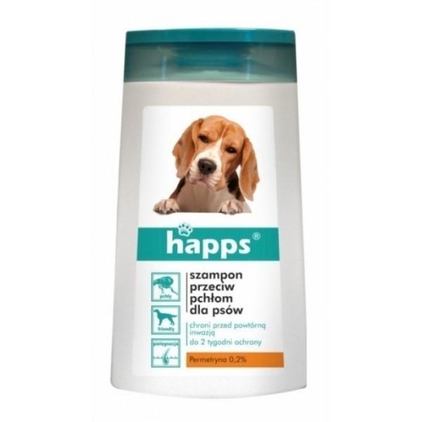 Happs szampon przeciw pchłom dla psów 150ml